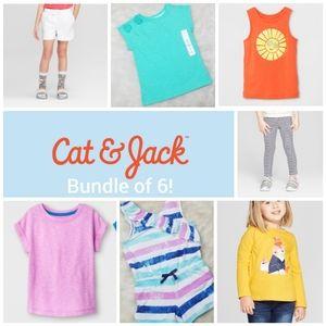 NWT Cat & Jack 4T 7 piece Bundle